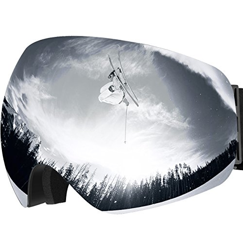 OMORC Masque de Ski Protection UV400, Lunette de...