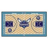 FANMATS NBA Charlotte Hornets - Corredor de la NBA de Nailon para la Corte (Talla pequeña)