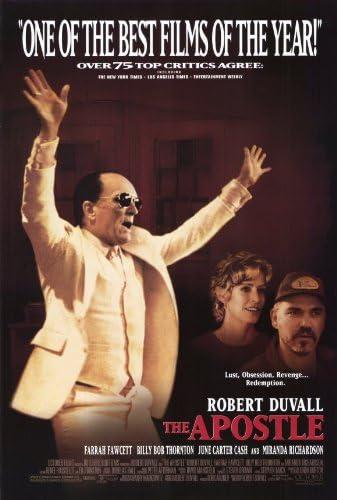 Amazon.com: Pop Culture Graphics The Apostle Poster Movie B 11x17 Robert  Duvall Miranda Richardson Farrah Fawcett John Beasley: Prints: Posters &  Prints