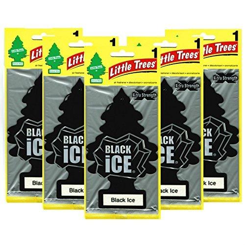 Little Trees リトルツリー ブラックアイス BIGサイズ【 X-tra Strength Black Ice】5枚組 [並行輸入品]