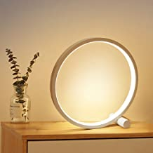 HHMTAKA Bedside Table Lamp USB Modern Night Light with 3 Color Mode Dimmable Brightness Desk Lights for Bedrooms, Living R...