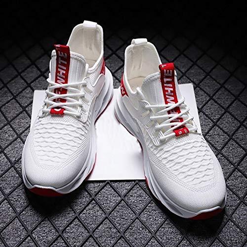 JMAR Calzado De Basquetbol - Zapatillas para Caminar, Zapatillas Informales con Cordones Zapatillas Deportivas para Correr Zapatillas Antideslizantes para Caminar Transpirables