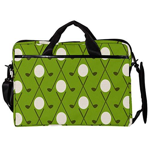 Mochila unisex para ordenador o tableta, ligera, bolsa de viaje de lona, con hebillas, adorno verde de invierno