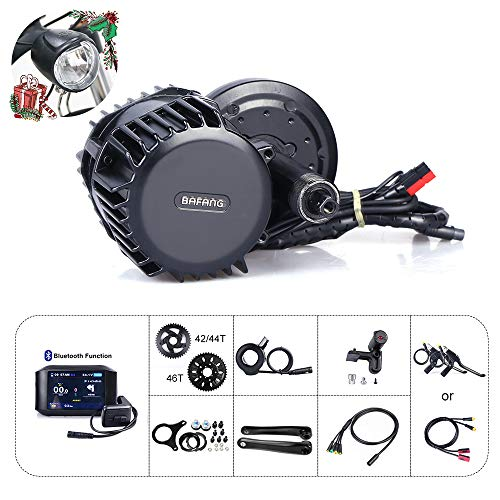 Bafang 8fun BBSHD 48V 1000W Kit de Motor Central Bicicleta eléctrica Ebike Display Motor Central sin batería