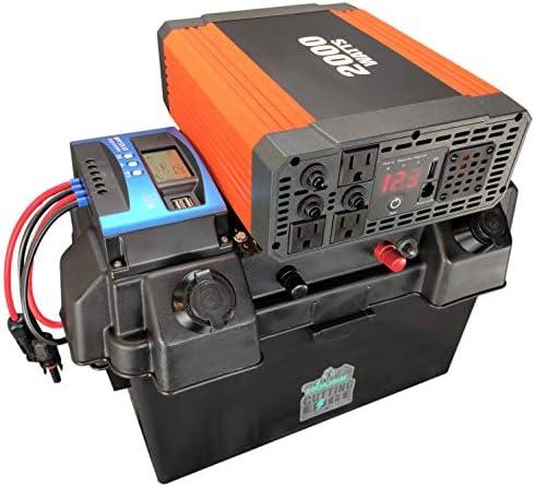 Cutting Edge Power 2 000W Solar Generator Portable Solar Battery Box w Inverter product image