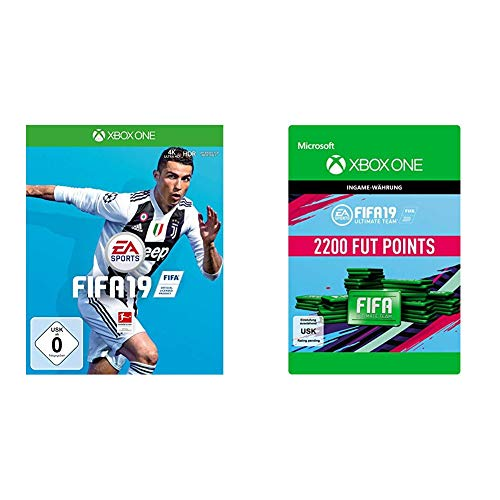FIFA 19 [Xbox One] + 2,200 FUT Points [Download Code]