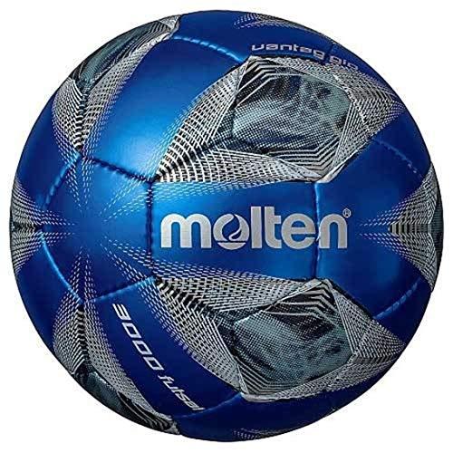 molten(モルテン) サッカーボール 小学生用 4号球 検定球 ヴァンタッジオ3000 メタリックブルー×ブルー F4A3000-BB