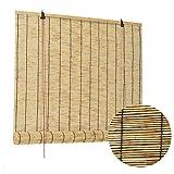 LKLXJ Persianas De Caña, Estor Bambu, Persiana Exterior Enrollable, Colores...