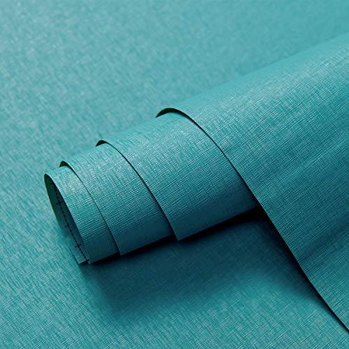 Green Wallpaper CAS217 Selbstklebende Tapete, selbstklebend, Vinyl, für Schrank, Tisch, Wohnzimmer, 39,9 x 299,7 cm, einfarbig