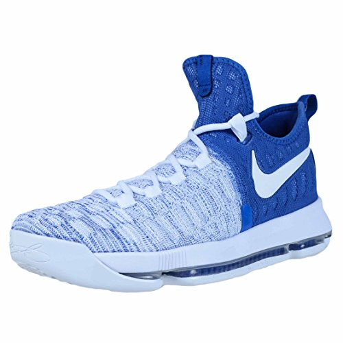 Nike Mens Kevin Durant KD 9 Basketball Shoes Game Royal/White 843392-411 Size 9.5