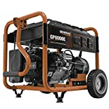 Generac 6954 GP8000E 8,000 Running Watts/10,000 Starting Watts Electric Start Gas Powered Portable Generator - CSA Compliant