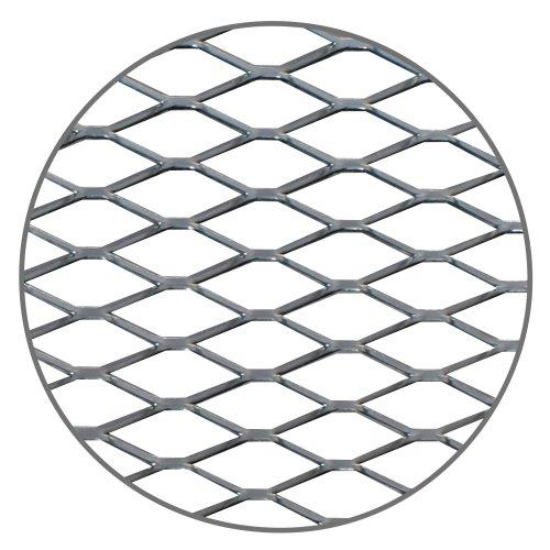 Sport Gitter, Aluminium 30 x 125cm poliert