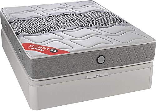 PIKOLIN SmartPik smart 135x190 Matratze, fortgeschrittene Federn mit Visco-Progression, hohe Festigkeit, 28 cm e-Star-Matratzen
