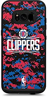 Skinit Decal Skin for LifeProof Fre Galaxy S8 - Officially Licensed NBA LA Clippers Digi Camo Design