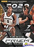 2020/21 Panini PRIZM Draft Picks NBA Basketball EXCLUSIVE Factory Sealed Retail Box with 7 PARALLELS! Look for Rookies & Autos of LaMelo Ball, Anthony Edwards, James Wiseman & Many More! WOWZZER!