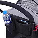 ROODO Escort Pet Stroller Dog and cat pet Three-Wheeled cart - Lightweight, Compact, Portable, Practical, Removable, Change Color (Black special edition) 11