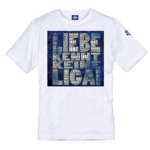 Volkspark Hamburg Streetwear Herren Shirt Liebe kennt. (3XL)