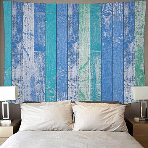 Tapiz de madera tapiz de arte retro hippie colgante de pared habitación tablón de pared patrón tapiz tela de fondo A6 180x200cm