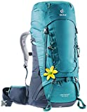 Deuter Aircontact 40 + 10 SL Mochila Tipo Casual 76 Centimeters 50 Azul (Petrol-Navy)