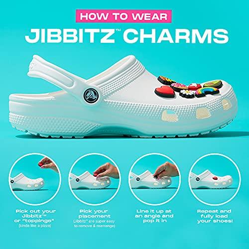 Crocs Jibbitz Fruit Shoe Charms | Jibbitz for Crocs, Peach, Small