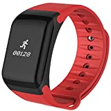 Orologio–Braccialetto di attività, per lavorare su salute. (Rosso)