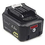 Waitley マキタ BL1015 10.8V 互換 バッテリー 6000mAh BL1015 BL1050 BL1060 対応 リチウムイオンバッテリーMakita互換電池 掃除機など電動工具対応 残量指示付き