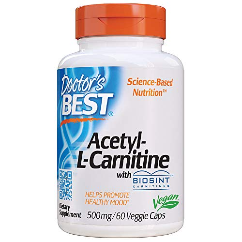 Doctor's Best, Best Acetyl-L-Carnitine HCl, 588 mg, 60 Capsules