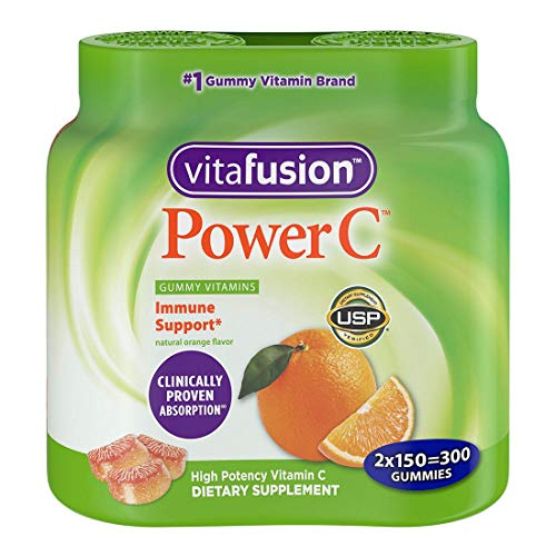 Vitafusion Power C, Gummy Vitamins For Adults (300ct)