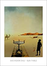 1art1 Posters: Salvador Dali Poster Art Print - Sun Table (28 x 20 inches)