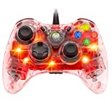 PDP Afterglow Wired Controller for Xbox 360 - Red - microsoft_xbox_360