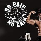 ASFGA Etiqueta de Fitness con Mancuernas póster de Fitness Vinilo músculo Etiqueta...
