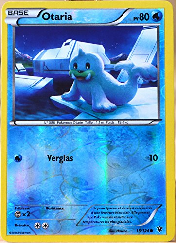 carte Pokémon 15/124 Otaria 80 PV - REVERSE XY - Impact des Destins