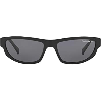 Black Arnette Mens Lost Boy Polarized Rectangular Sunglasses 56 mm