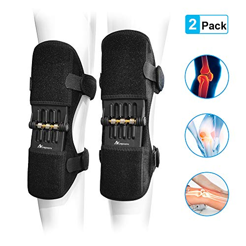 ANCROWN Knee Braces Joint Support, Power Stabilizer Pad, Patella Lifts Protection Booster,...
