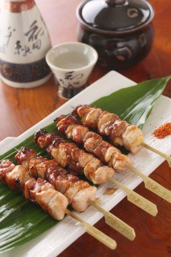 名古屋コーチン焼き鳥 正肉串(モモ・ムネ) 5本・つくね5本セット