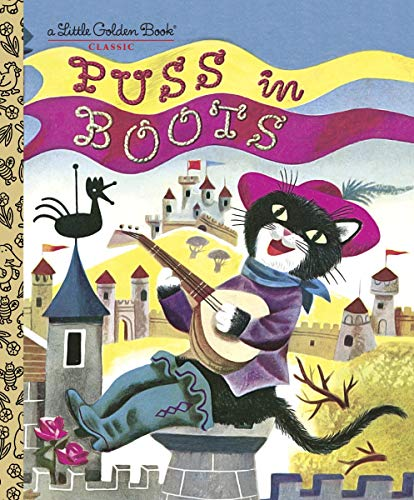 Puss in Boots (Little Golden Book) (English Edition)