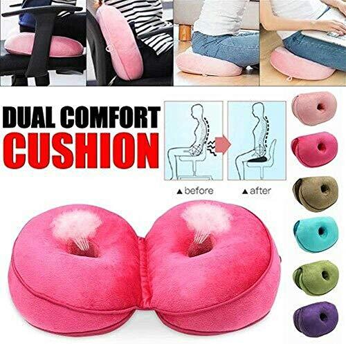 QKU Medicom Orthopedic Cushion Dual Comfort Orthopedic Cushion Arosetop Hip Orthop (Purple)