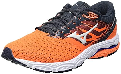 Mizuno Wave Prodigy 3, Zapatillas para Correr Hombre, Orangecf Barelyb ébano, 42 EU