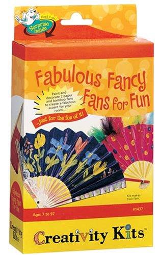 Creativity for Kids - Cfk1437 - Kit De Loisirs Créatifs - Mini-kit Sympa D' Éventails Fabuleux
