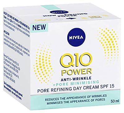 Nivea Q10 Power Anti-Wrinkle Pore Refining Day Cream, 50ml from Beiersdorf Uk Ltd