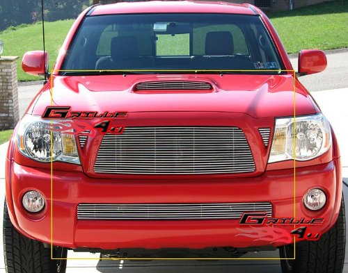 APS Compatible with 05-10 Tacoma TRD Sport Billet Grille Grill Combo Insert T87742A