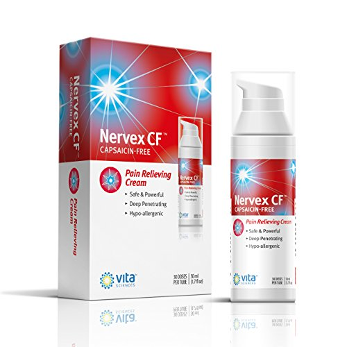 Neuropathy Pain Relief for Feet - Nerve Pain Relief Neuropathy Cream Shingles Nerve Pain Relief Arnica, B12, B1, B5, B6, E, MSM. Aloe, Coconut Oil Base Stop Burning, Tingling, Numbness Capsaicin-Free