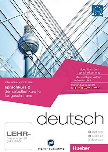 DP.SPRACHKURS 2.A2-B2(DVD-ROM+CD+L.): der selbstlernkurs für fortgeschrittene / Paket: 1 DVD-ROM + 1...
