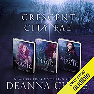 Crescent City Fae: Complete Boxed Set (Books 1-3) audiobook cover art