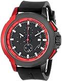 Ritmo Mundo 1101/4 Watch Quantum Sport Quartz Chronograph Aluminum Accents, Red
