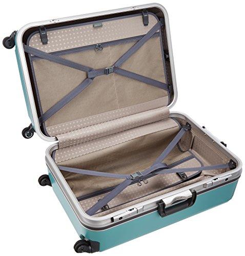 [プロテカ]スーツケース日本製エキノックスライトオーレサイレントキャスター96L66cm5kgピーコックブルー
