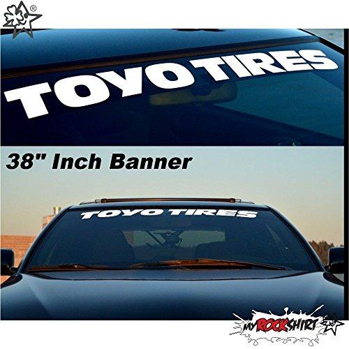 TOYO TIRES 80 cm Tuning Aufkleber Sticker Decal `+ Bonus Testaufkleber