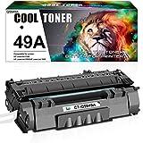 Cool Toner Compatible Toner Cartridge Replacement for HP 49A Q5949A 49X Q5949X 53A Q7553A HP Laserjet 1320 1320n P2015 P2015dn P2014 3390 1160 P2015d 1320tn M2727nf Toner Cartridge ink (Black, 1-Pack)