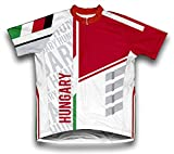 ScudoPro Hungary Short Sleeve Cycling Jersey for Men - Size L