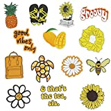 Roberly VSCO Vinyl Cute, Trendy, Aesthetic Stickers for Water Bottle Laptop for Teens Girls Guitar Phone Car Skateboards Popular Element Decals (Yellow) 48 Pieces guitar for kids Nov, 2020